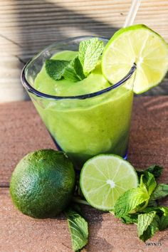 Mint Mojito Smoothie: ½ cup Silk Pure Coconut Milk 1 ½ cups plain Greek yogurt 2 tbsp fresh lime juice ¼ cup fresh mint leaves 1 ripe banana ½ of an avocado ½ cup crushed iced cubes