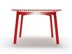 Benjamin Hubert's Ripple Table goes into production - Lighter and Stronger
