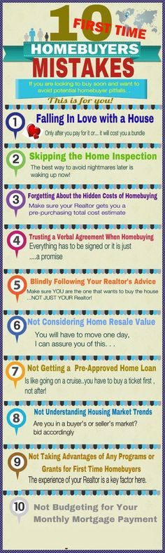 10 First time #Home Buyers #Mistakes...