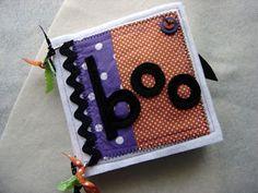Halloween soft book for kiddos, great idea!