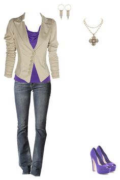 Peek-a-Boo Purple by cloudyeyz on Polyvore featuring polyvore fashion style Lipsy 1928 clothing peek casual gold party purple