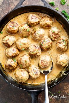 This Swedish Meatballs recipe has been passed down from a Swedish grandmother! The best Swedish meatballs recipe you'll ever try! Better than Ikea!