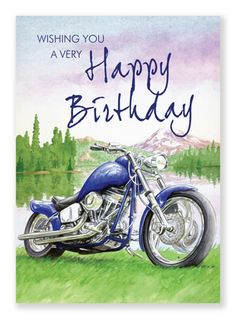Birthday motorcycle