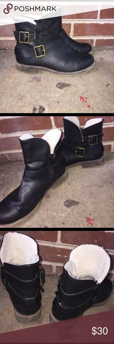 Boots They are very cute and comfy but they are a little to small on me I've only wore them like 3 times Shoes Ankle Boots & Booties