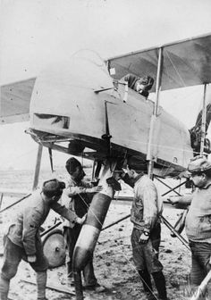 """Farman"" of the French Air Force, 1917"