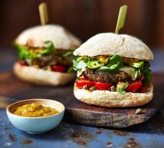 A burger that's all five of your 5-a-day? It's real and really tasty! Vegetarians have never had it so good