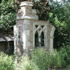 Historic folly - put a ruin in your garden to create a secret/ magic space