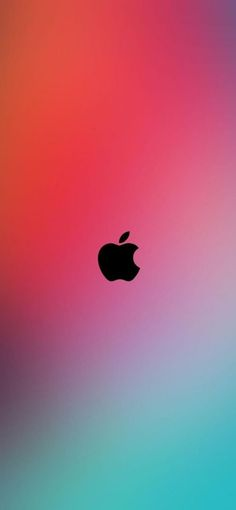 10 Alternative Wallpapers for Apple iPhone 11 - 03 - Simple Colorful Background with Logo - HD Wallpapers | Wallpapers Download | High Resolution Wallpapers