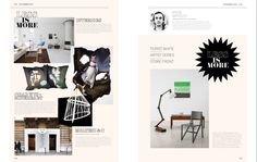 Flipsnack #Magazine double layout #inspiration | Home Decor Inspiration Magazine Design Inspiration, Magazine Layout Design, Layout Inspiration, Home Decor Inspiration, Brochure Examples, Brochure Design, Magazine Spreads, Magazine Art, Page Layout