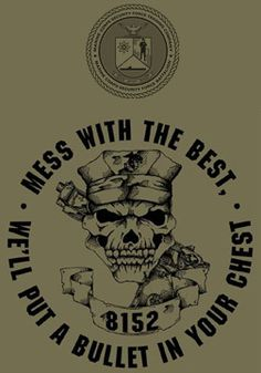 Marine Corps Security Force School USMC T-shirt - Hard Charger Apparel