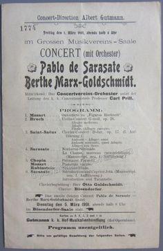 Spalding Albert  Kleiber Erich  Carnegie Hall Concert Program