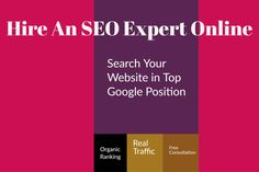 Hire SEO expert in India. http://www.sonibharti.com/hire-seo-expert-india/