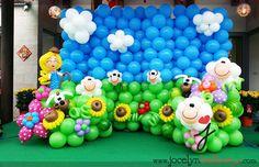 balloon backdrop photo booth - Google Search