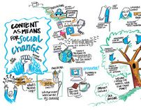 Content As A Means For Social Change  As social and Internet entrepreneurs search for ways to effect IRL social change by using online tools and platforms, the focus has been on social media. However, while social media has been the