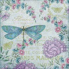 Flower Painting - Jardin De Luxe-jp3070 by Jean Plout