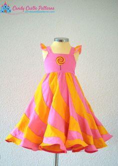 Marshmallow Swirl Mash-up Extension patron peppermint Swirl dress et Marshmallow dress ou tunic