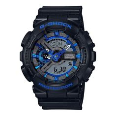 Casio Men's GA110CB-1A 'G-Shock' Chronograph Analog-Digital Black Resin Watch