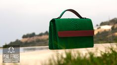 Going Green with Preppy Green, available on http://www.peauferoce.com/buy-now-pf-208