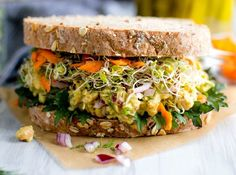 Smashed Chickpea Salad Sandwich. Get the recipe.