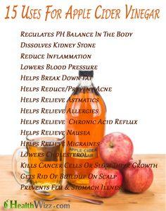 health benefits of apple cider vinegar  #health