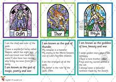 Teacher's Pet Activities & Games » Viking God Matching Cards » EYFS, KS1, KS2 classroom activity and game resources » A Sparklebox alternative