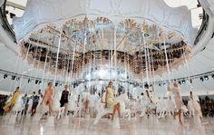 Chanel - Grand Palais - Fashion is show #chanel #defile #catwalk #runway