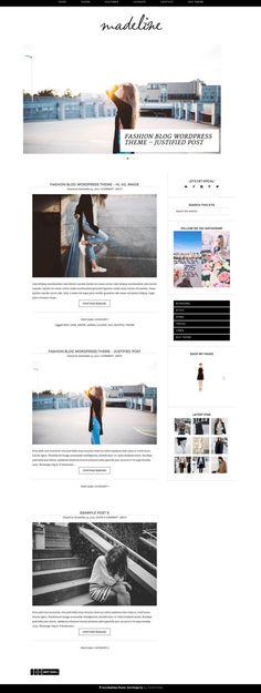 Wordpress Theme Responsive Blog Design Madeline by allthingsweb (scheduled via http://www.tailwindapp.com?utm_source=pinterest&utm_medium=twpin&utm_content=post19976704&utm_campaign=scheduler_attribution)