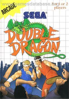 Double Dragon - Sega Master System - Artwork - Box