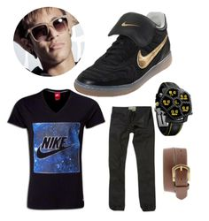 Neymar Jr. Inspired Outfit #nike