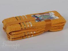 Набор полотенец BALE темно-желтый 30х50 (3шт) от Karna (Турция) - купить по низкой цене в интернет магазине Домильфо