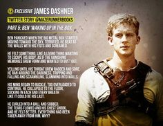 "Part 5 of James Dashner's short Twitter stories; ""Ben waking up in the Box."""