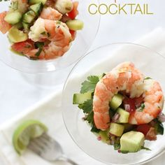 Shrimp Ceviche style  (similar to the shrimp ceviche I make chopping the shrimp and using chips to eat)