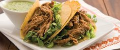 Elevate your senses and your menu with this Slow Cooker Pork Carnitas recipe from Smithfield.