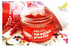 eat.art Spanish Paella spice Spanish Paella, Candle Jars, Candles, Exotic, Recipes, Recipies, Candy, Ripped Recipes