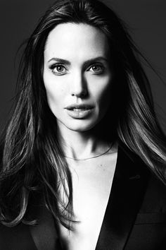 "Angelina Jolie in ""Untamed Heart"" for Elle US, June 2014."