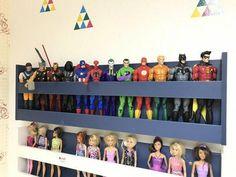 Avengers Room, Marvel Room, Boys Bedroom Decor, 4 Year Old Boy Bedroom, Boys Superhero Bedroom, Superhero Room Decor, Boy Girl Room, Kids Room Organization, Toy Rooms