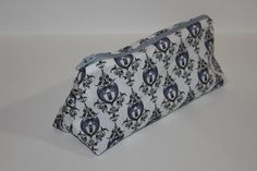 Doctor Who TARIDIS Pencil Case  Light Grey by TechnicolorMoments, $10.00