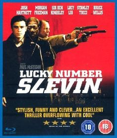 Lucky Number Slevin Thriller in which a case of mistaken identity lands Slevin (Josh Hartnett) in the middle of a war being plotted by two of the citys most rival crime bosses The Rabbi (Ben Kingsley) and The Boss (Morga http://www.MightGet.com/january-2017-12/lucky-number-slevin.asp