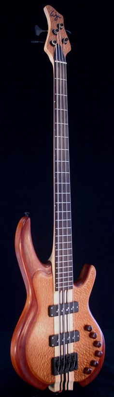 WYN Carved Lacewood and Padauk 4-string