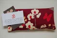 Organic flaxseed and lavender eye pillow $12