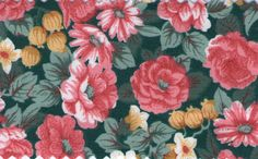 The english roses Fat Quarter cottom by betweeneedlesandpins, $3.95