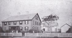 Poor house. Guess around 1900.