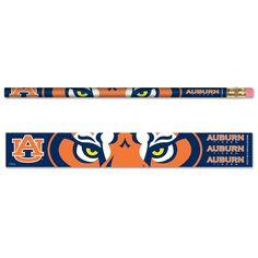 Auburn University Pencil 6-pack