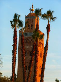 koutoubia marrakech by bernawi, via Flickr