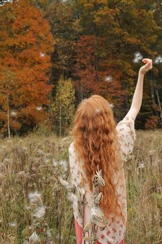 Autumn Dreamer ~ by crazy-heart on deviantART  #photography #portrait #myt
