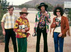 Roger Mayer &The Jimi Hendrix Experience  -  Arizona 1968