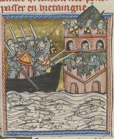 Faits des Romains. Date d'édition : 1324-1328 Type : manuscrit Langue : Latin Français http://www.pinterest.com/stephenjeffrey9/post-medieval/