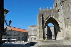 Camino Portugues. Tui. Catedral.