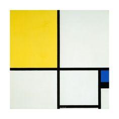 Piet Mondrian, Posters and Prints at Art.com