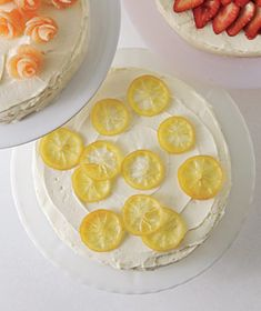 How to make candied lemons to decorate a cake - use on lemonade cake for Summer